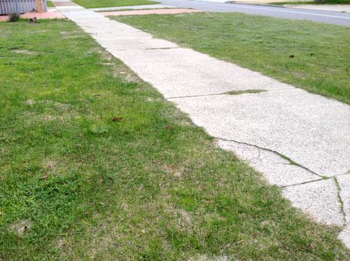 パースの芝生5月
