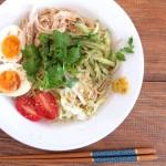 思い立ったらすぐ!簡単にできる冷やし中華のレシピ。