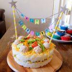 海外の子も大喜び!簡単&盛り上がる寿司ケーキのレシピ。